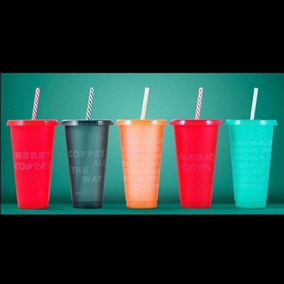 2019 Starbucks reusable cold cups